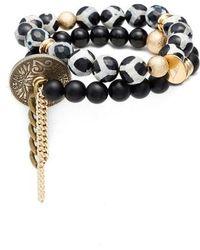 THE LACE PROJECT - Set Of 2 Bead Stretch Bracelets - Lyst
