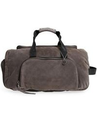 John Varvatos - Brooklyn Suede Convertible Duffel Bag - Lyst