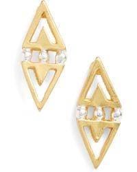 Karine Sultan - Statement Earrings - Lyst