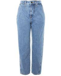TOPSHOP   Displaced Boyfriend Jeans   Lyst