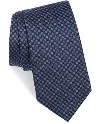 Ferragamo - Enna Neat Silk Tie - Lyst