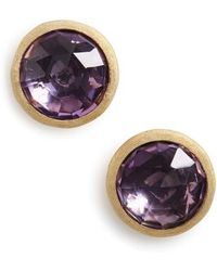 Marco Bicego - 'jaipur' Stone Stud Earrings - Lyst