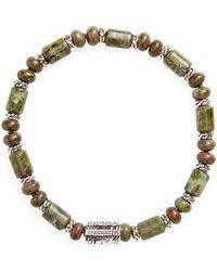 John Hardy - Classic Chain Beaded Bracelet - Lyst