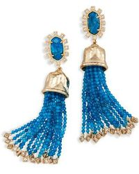 Kendra Scott - Decker Tassel Drop Earrings - Lyst