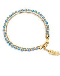 Astley Clarke - Feather Biography Bracelet - Lyst
