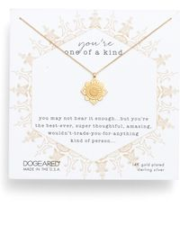 Dogeared - You're One Of A Kind Pendant Necklace - Lyst