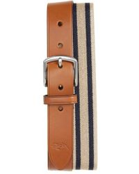 Nordstrom - 1901 Orris Tumbled Leather Belt - Lyst
