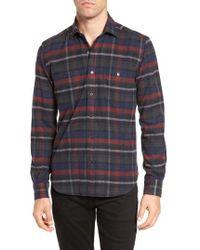 Culturata | Plaid Flannel Sport Shirt | Lyst