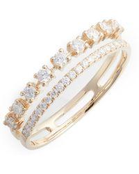 Dana Rebecca - Ava Bea Diamond Stacking Ring - Lyst