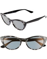 Ray-Ban - Nina 54mm Cat Eye Sunglasses - - Lyst