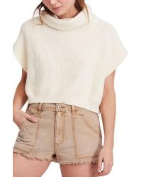 Free People - Keep It Simple Vest - Lyst
