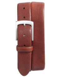 Bosca - Tubular Leather Belt - Lyst