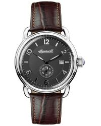 INGERSOLL WATCHES | Ingersoll New England Leather Strap Watch | Lyst