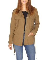 Sanctuary - Kinship Surplus Cotton Blend Jacket - Lyst