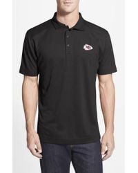 Cutter & Buck - 'Kansas City Chiefs - Genre' Drytec Moisture Wicking Polo - Lyst