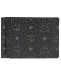 MCM | Visetos Faux Leather Wallet | Lyst