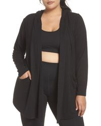 Zella - After Class Hooded Cardigan - Lyst