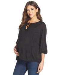 Loyal Hana | 'megan' Maternity/nursing Top | Lyst