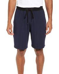 Daniel Buchler - Modal & Silk Lounge Shorts - Lyst