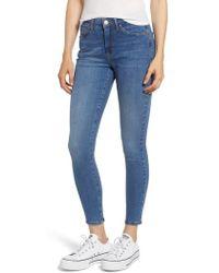 TOPSHOP - Moto Sidney Stretch Skinny Jeans - Lyst