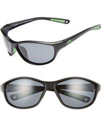 Rheos Gear - Bahias Floating 60mm Polarized Sunglasses - Gunmetal / Gunmetal - Lyst