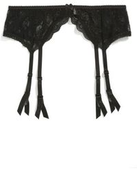 B.tempt'd - Lace Garter Belt - Lyst