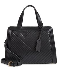 Sole Society - Aisln Faux Leather Satchel - - Lyst