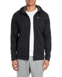aeb61239c2dc Lyst - Nike Therma-sphere Max Men s Training Jacket in Black for Men