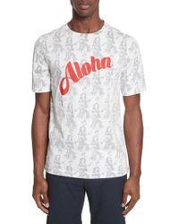 Paul Smith   Aloha Print T-shirt   Lyst