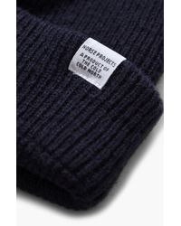 Norse Projects - Norse Project Wool Knit Cap - - Lyst