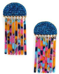 Lele Sadoughi - Crystal Comb Earrings - Lyst