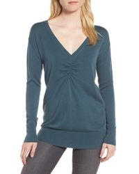 Trouvé - Ruched Sweater - Lyst
