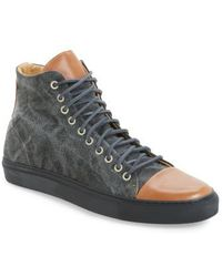 Kenneth Cole   Good Sport High Top Trainer   Lyst