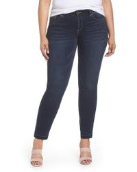 Vince Camuto - Release Hem Ankle Jeans - Lyst
