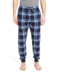 Ralph Lauren | Flannel Pyjama Jogger Trousers | Lyst