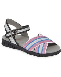 2355a0c9d112 Lyst - Timberland Malibu Waves 2 Bands Sandals in Metallic