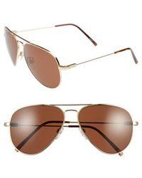 Electric - 'av1' 58mm Aviator Sunglasses - - Lyst