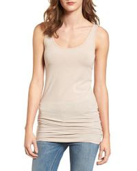 Splendid | Scoop Neck Stretch Tank | Lyst