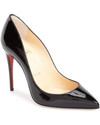 e5431444133 Lyst - Christian Louboutin  pigalle Follies  Pointy Toe Pump