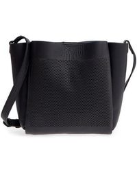 9c41ecd48e Vince Camuto - Beatt Perforated Leather Bucket Bag - Lyst