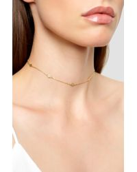 Argento Vivo - Station Choker Necklace - Lyst