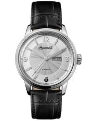 INGERSOLL WATCHES | Ingersoll Regent Automatic Leather Strap Watch | Lyst