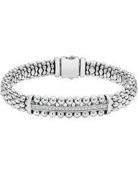 Lagos - Spark Diamond Station Bracelet - Lyst