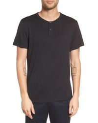 Theory   Gaskell Anemone Slim Fit Henley   Lyst