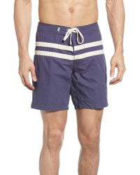 Rhythm - Heritage Swim Trunks - Lyst