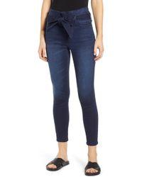 Tinsel - Paperbag Waist Skinny Jeans - Lyst