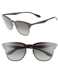 Ray-Ban - Blaze Clubmaster 47mm Sunglasses - - Lyst