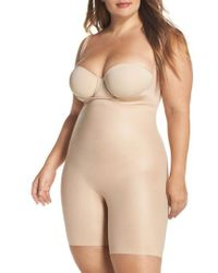 Spanx - Spanx Power Conceal-her Open Bust Bodysuit - Lyst