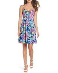 Lilly Pulitzer - Lilly Pulitzer Easton Fit & Flare Dress - Lyst