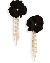 Natasha Couture - Floral Earrings - Lyst